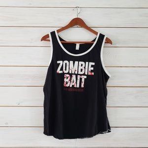 The Walking Dead Zombie Bait unisex tank top med